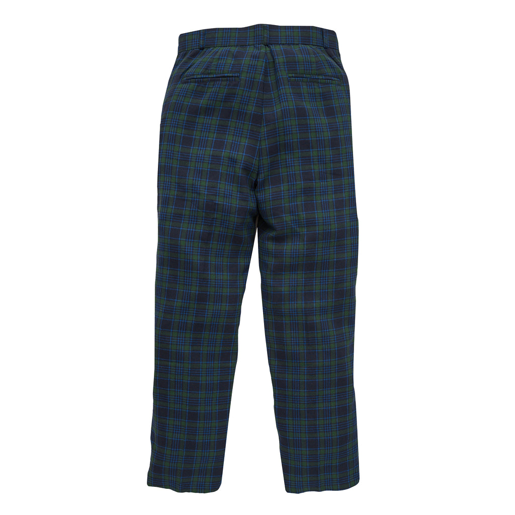 Bobby Trouser (Blue/Green Tartan)