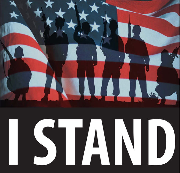I Stand for the Flag Decal