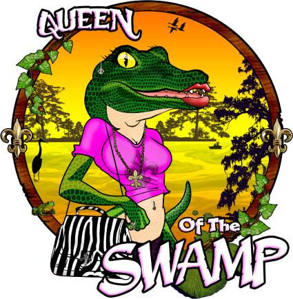 Queen of the Swamp Decal