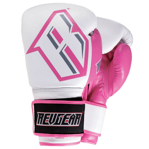 S3 SPARRING BOXING GLOVE - WHITE/PINK
