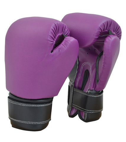 Recruit No Logo Boxing Gloves Black/Purple