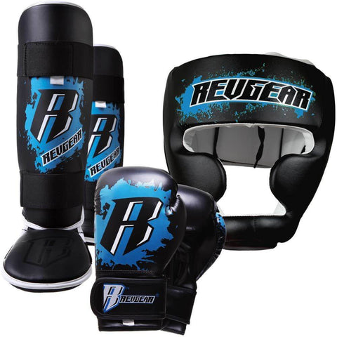 KIDS DELUXE KICKBOXING KIT - BLUE