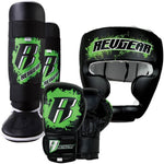 KIDS DELUXE KICKBOXING KIT - GREEN