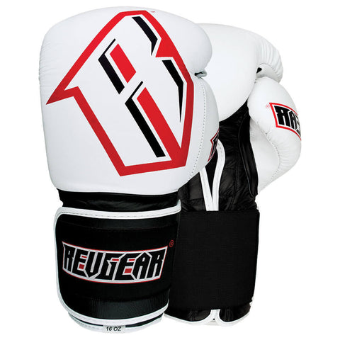 S3 SPARRING BOXING GLOVE - WHITE/BLACK
