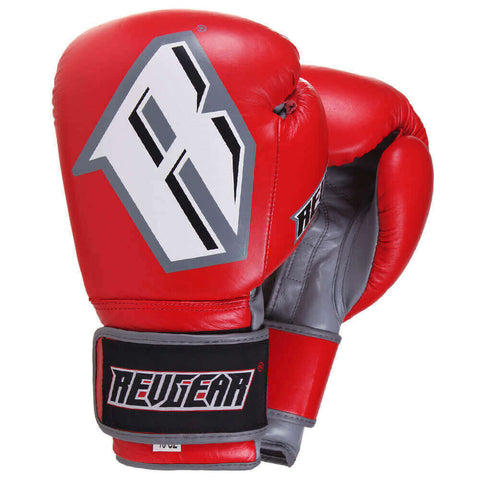 S3 SPARRING BOXING GLOVE - RED/GREY