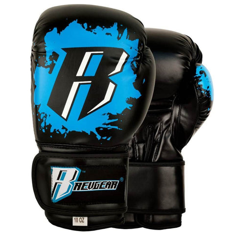 YOUTH DELUXE BOXING GLOVES - BLUE