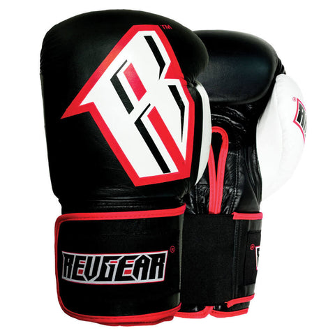 S3 SPARRING BOXING GLOVE - BLACK/RED