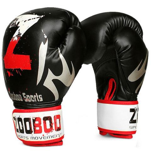 ZOOBOO 1 Pair MMA Muay Thai Boxing Gloves