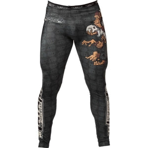 MMA Monkey pattern Fighter Pants