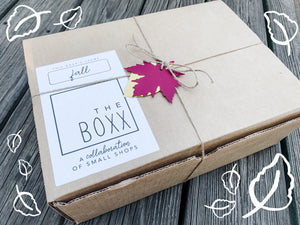 2020 Surprise Fall Boxx - Specially curated box of Fall-Inspired Decor & Items