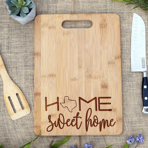 Home Sweet Home State Rectangular Board