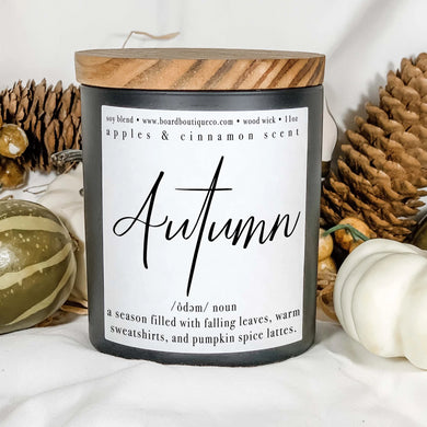 Autumn 11oz Candle