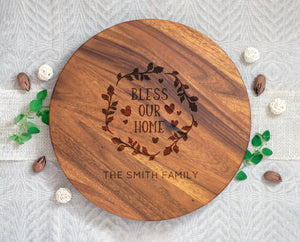 Bless Our Home Lazy Susan
