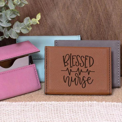 Blessed Nurse Business Card Holder