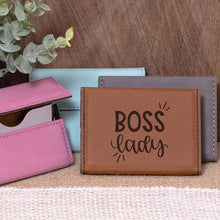 Load image into Gallery viewer, Boss Lady Business Card Holder