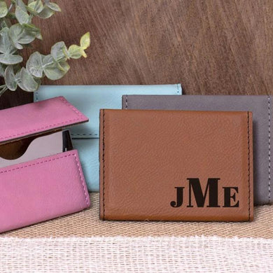 Initials Business Card Holder