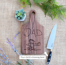 Load image into Gallery viewer, Personalized Child's Drawing Paddle Board