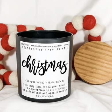 Christmas 11oz Candle