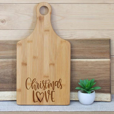 Christmas Love Paddle Board