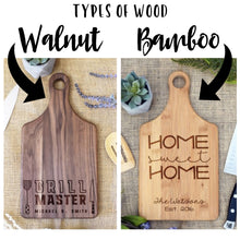 Load image into Gallery viewer, Home Sweet Farmhouse with Family Name Paddle Board