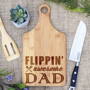 Flipping Awesome Dad Paddle Board