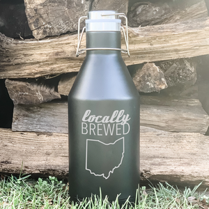 Locally Brewed State Growler