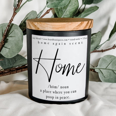 Home - Poop in Peace 11oz Candle