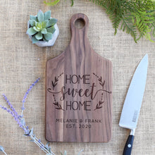 Load image into Gallery viewer, Home Sweet Home Wreath - Family Name and Est. Year Paddle Board