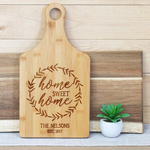 Home Sweet Home Wreath Paddle Board