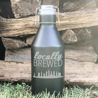 Locally Brewed Skyline Growler