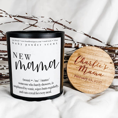 New Mama 11oz Candle