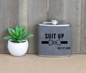 Suit Up Flask