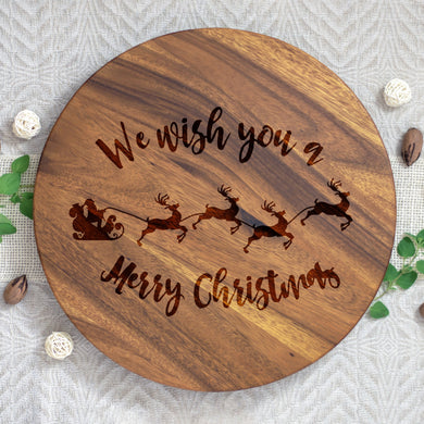 We Wish You a Merry Christmas Lazy Susan