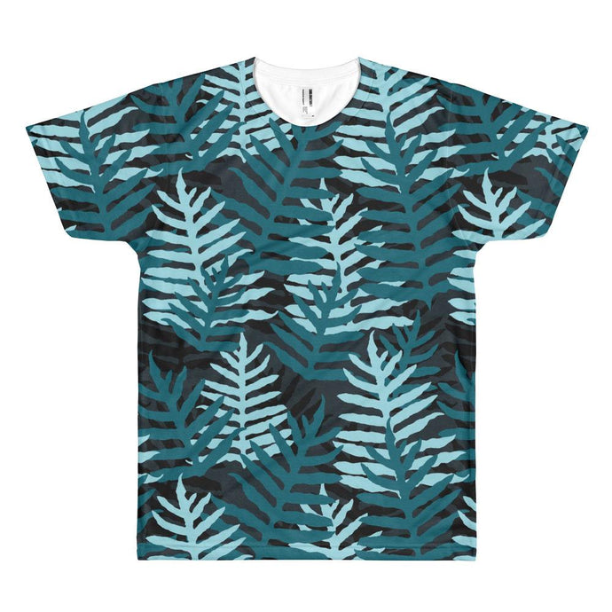 Laua'e Blue Camo Men's T-shirt