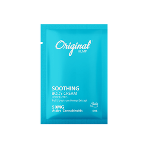Daily Dose Topical Soothing Cream 6mL - OriginalHemp