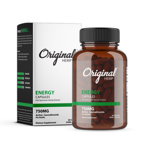 CBD Health Supplement for Energy | Energy Capsules | Original Hemp