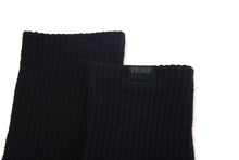 Load image into Gallery viewer, Hemp Label Crew Socks - Black