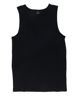 Hemp Tank Top Armor -  Black