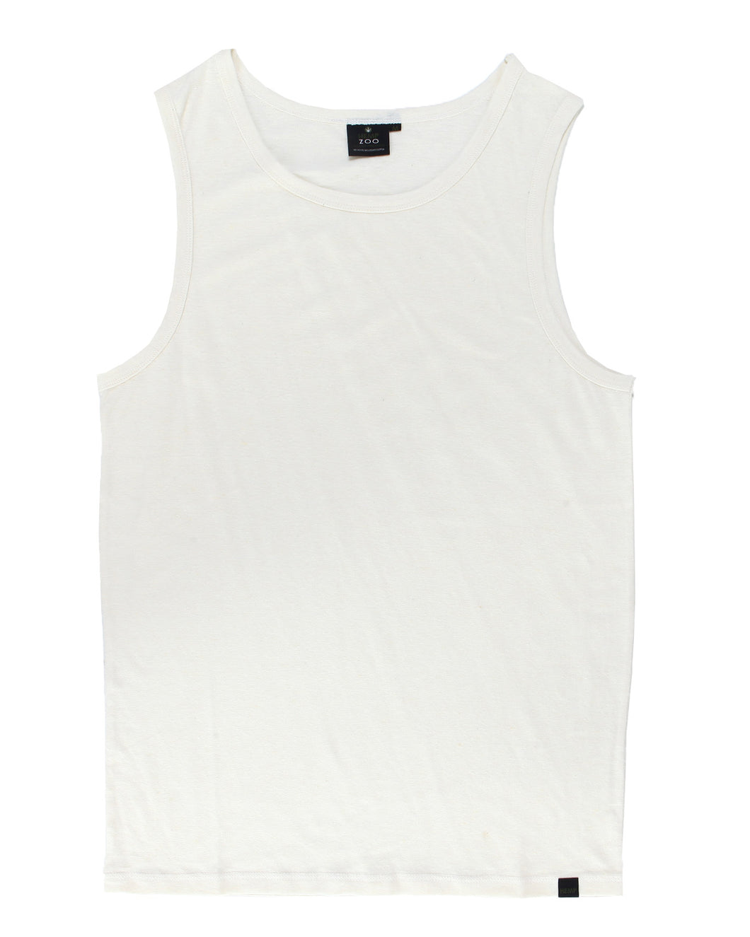 Hemp Tank Top Armor -  White