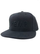 Load image into Gallery viewer, Hemp Black Kind Cap