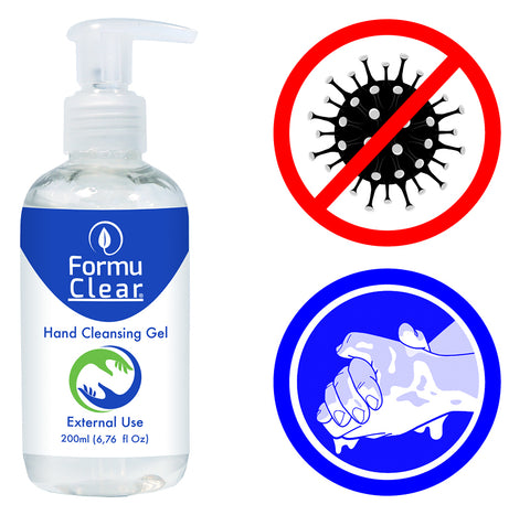 Desinfecterende handgel - 5x 200ml.