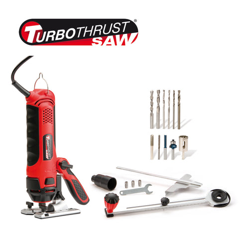 Turbo Thrust Saw - Krachtige alles-in-1 Multi-Tool