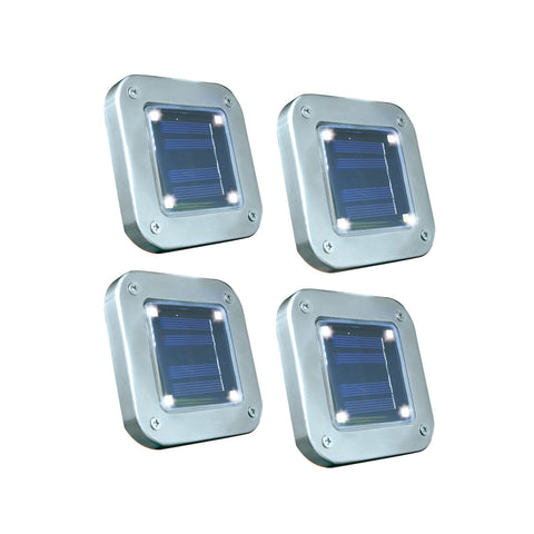 Set van 8, 12 of 16 krachtige Solar LED-Tuinlampen