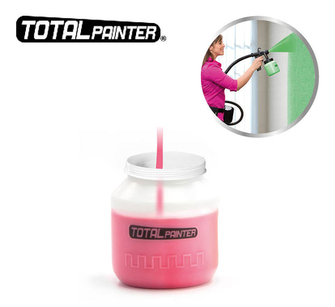 Total Painter Container- extra verfcontainer voor de Total Painter: geavanceerd verfpistool