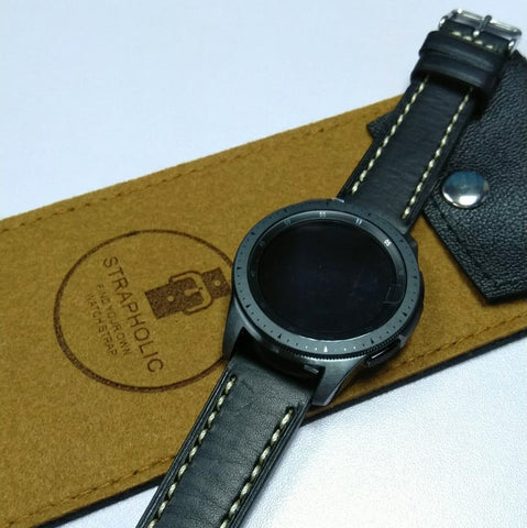 20mm leather strap / 牛皮帶
