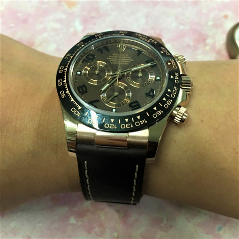 rolex daytona leather strap / daytona 皮帶