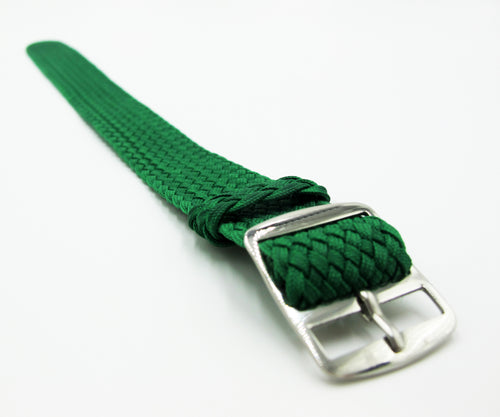 Green Nato Style Nylon Watch Strap w/ Tang Buckle - Strapconcept_錶帶工房, Rolex_Leather, IWC_Strap, Panerai_Strap, AP_Rubber, Cartier_Leather, Tudor_Nato, Omega_Rubber, Watch_Straps