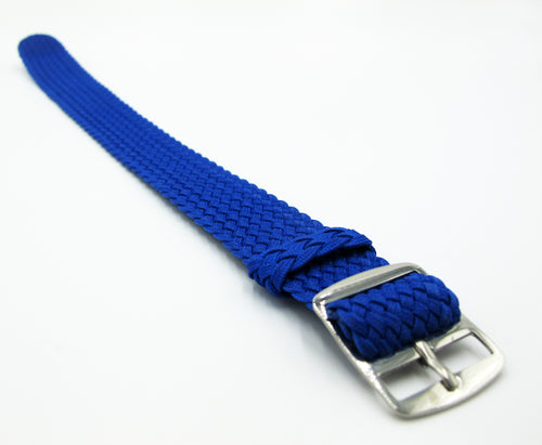 Blue Nato Style Nylon Watch Strap w/ Tang Buckle - Strapconcept_錶帶工房, Rolex_Leather, IWC_Strap, Panerai_Strap, AP_Rubber, Cartier_Leather, Tudor_Nato, Omega_Rubber, Watch_Straps