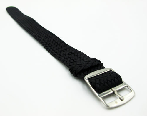 Black Nato Style Nylon Watch Strap w/ Tang Buckle - Strapconcept_錶帶工房, Rolex_Leather, IWC_Strap, Panerai_Strap, AP_Rubber, Cartier_Leather, Tudor_Nato, Omega_Rubber, Watch_Straps