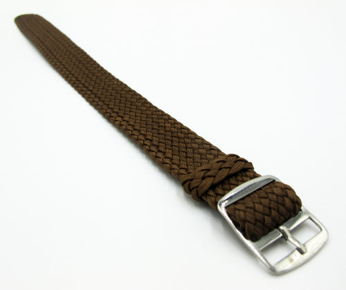 Brown Nato Style Nylon Watch Strap w/ Tang Buckle - Strapconcept_錶帶工房, Rolex_Leather, IWC_Strap, Panerai_Strap, AP_Rubber, Cartier_Leather, Tudor_Nato, Omega_Rubber, Watch_Straps